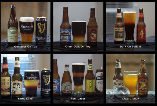 Black and tan beer recipe list